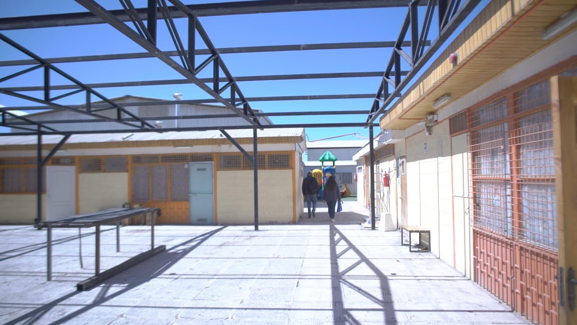 Los primeros días de marzo finalizarán las obras de conservación de la escuela de párvulos Las Ardillas